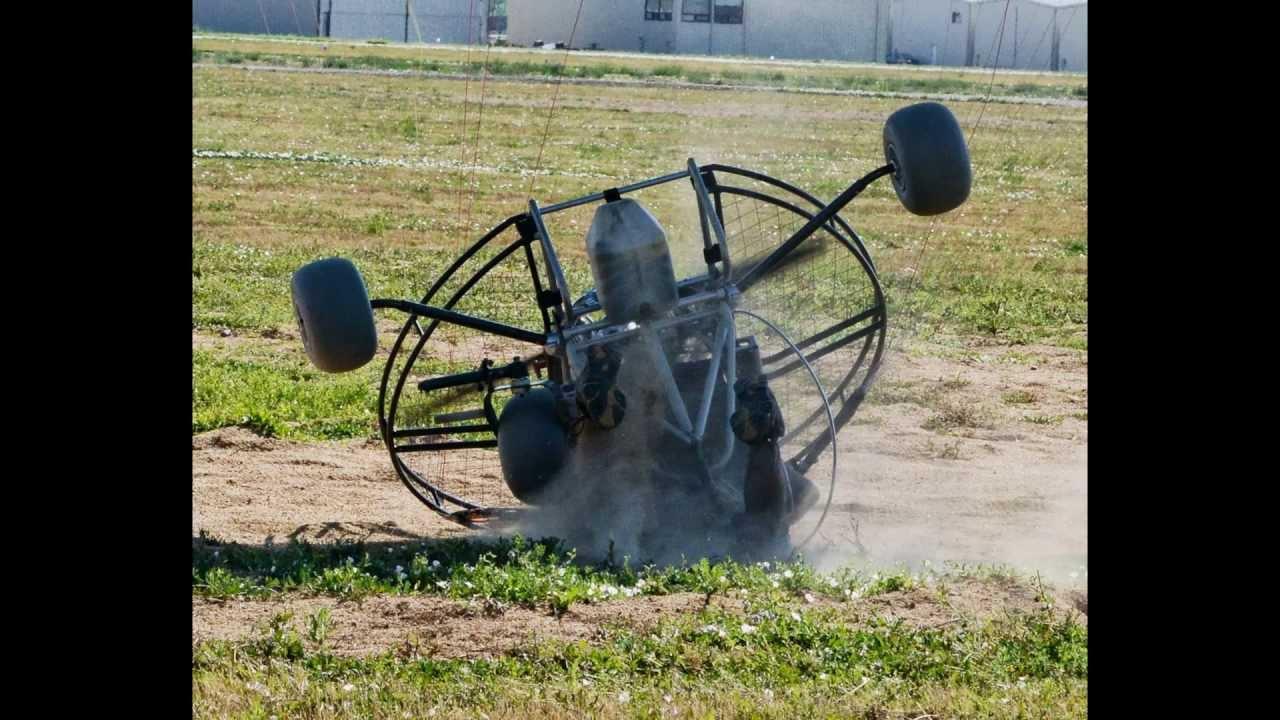 Powered Paraglider Trike Crash!