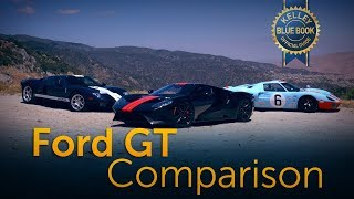 Ford GT Comparison - We Drive Each Generation