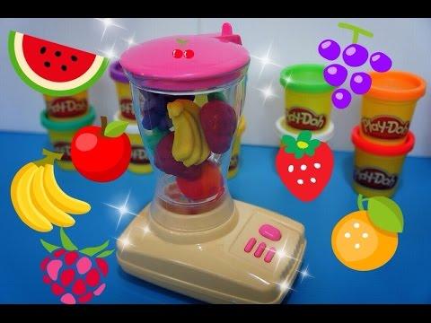 Play Doh,Blender-Mixer,ปั้นดินน้ำมัน,ปั้นแป้งโดว์,ของเล่น,เครื่องน้ำผลไม้