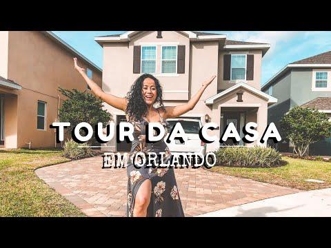 TOUR DA CASA EM ORLANDO