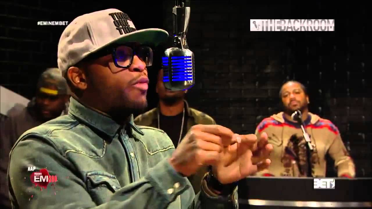 eminem slaughterhouse and big tigger 106 park the backroom