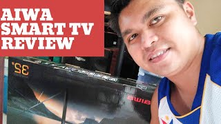AIWA SMART TV UNBOXING - AON0032S l PANALO AT SULIT SA PRESYO