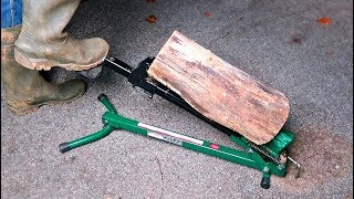 Foot Log Splitter Video