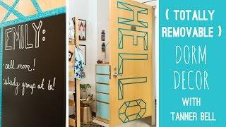 3 Totally Removable Dorm Decor Diys With Tanner Bell   Hgtv Handmade