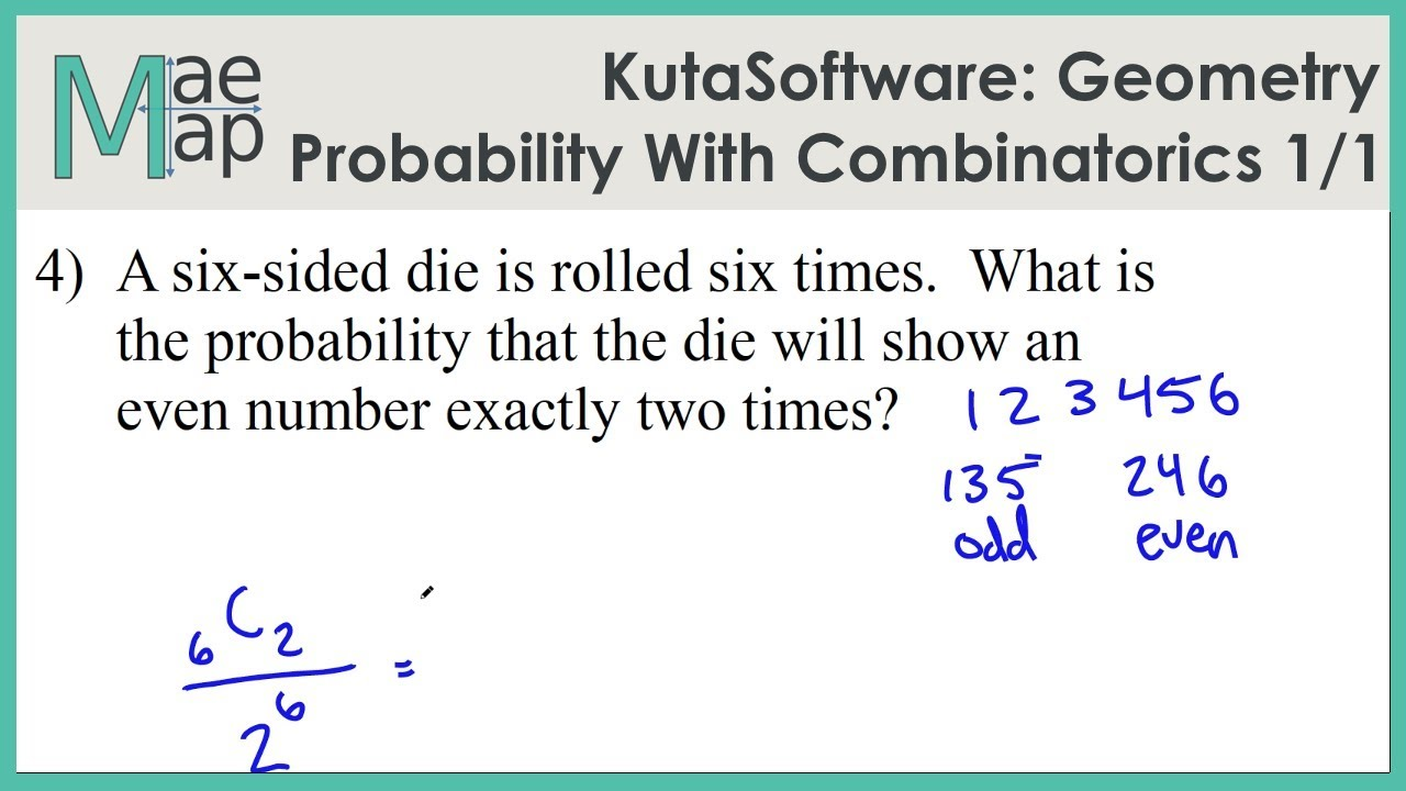 KutaSoftware: Geometry- Probability With Combinatorics