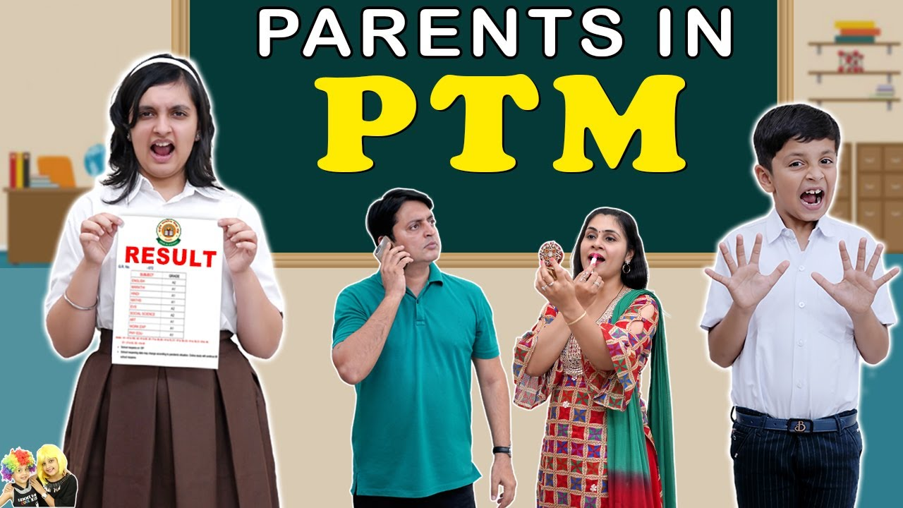 Download PARENTS IN PTM | Types of Parents during parent teacher meeting | Aayu and Pihu Show