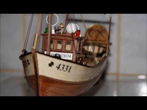 Model ship Construction - Mare Nostrum - Spanish  fishing trawler