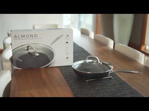 Almond - Premium Nonstick Frying Pan