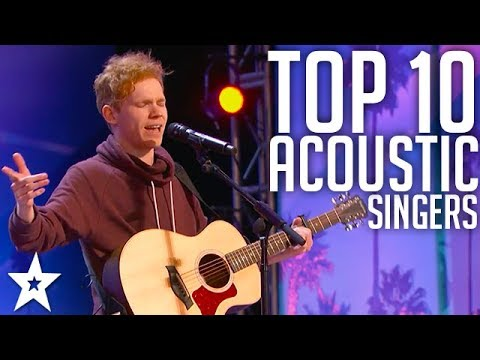 Top 10 BEST Male Acoustic Guitar Performances EVER | Got Tal
