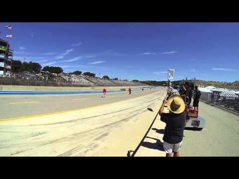 Monterey Motorsports Reunion 2015 - Historic Formula One (F1) Rolling Start! - Real life RUSH