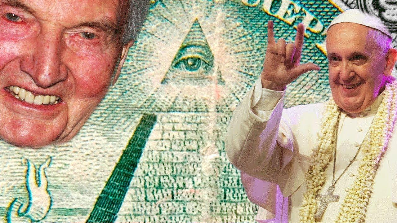 Пирамида с глазом на долларе США, конспирология, масоны и ...