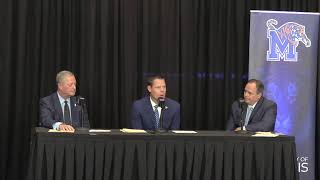 University of Memphis introduces Laird Veatch as the new athletic director