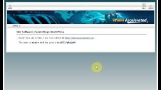 Hướng dẫn - Cài Wordpress tự động trên WordPress hosting cPanel P.A Vietnam | P.A Việt Nam