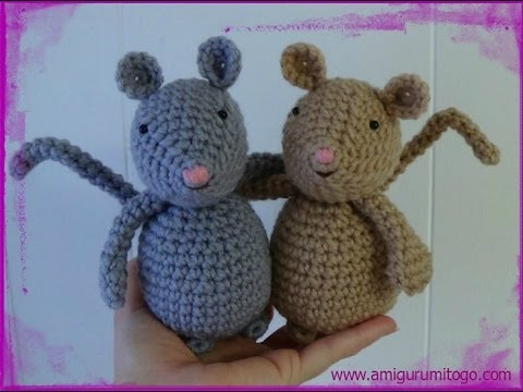 Amigurumi Rat : Bosavi woolly rat by soggy wolfie on deviantart