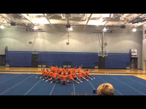 Southaven High School Cheerleaders Home Pom 2014-2015