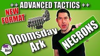 Warhammer 40k Necrons Tactics - Necron Doomsday Ark