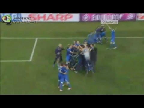 ITALIA - INGHILTERRA  4-2 dts   Euro 2012 Tutti i rigori