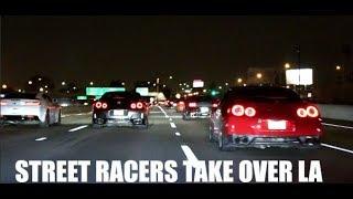 200MPH STREET RACE! 800HP Lamborghini Vs. The WORLD