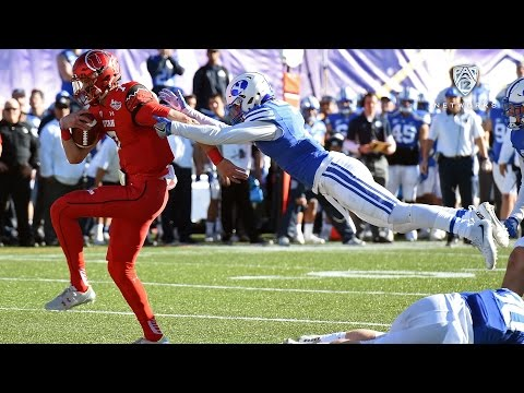 Highlights: Utah football tops rival BYU in Las Vegas Bowl