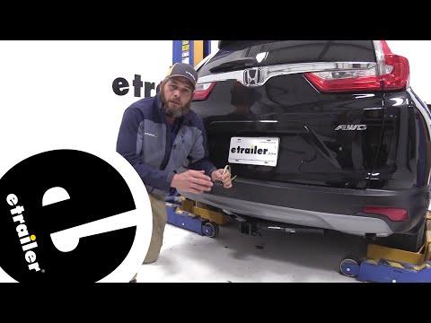 Best 2017 Honda CR-V Trailer WIring Options - etrailer.com