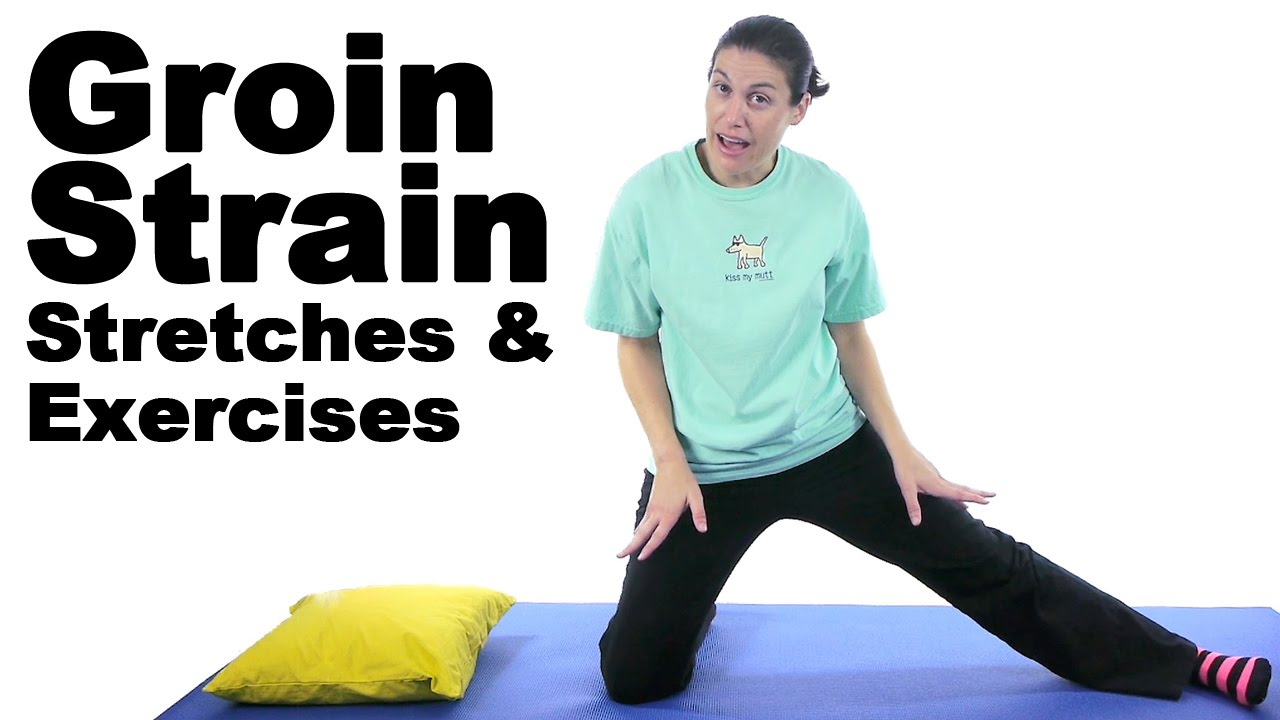 Groin Strain Stretches & Exercises - Ask Doctor Jo - YouTube