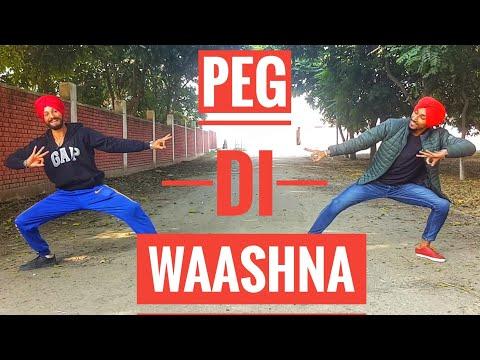 BHANGRA ON PEG DI WAASHNA || AMRIT MAAN Ft. Dj Flow ||IMPRESSION OF BHANGRA