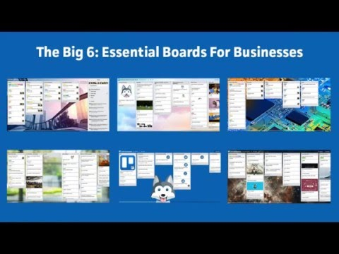 Webinar - Essential Trello Boards For Every Business