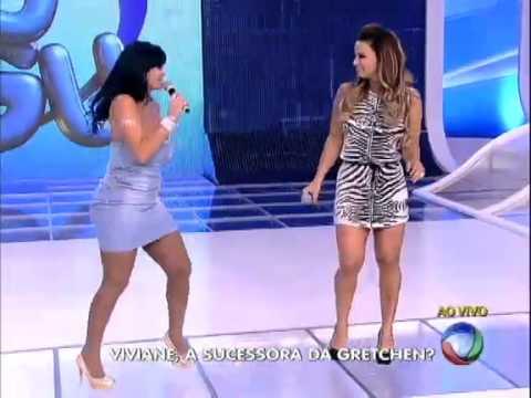 Gretchen A Rainha do rebolado  e Viviane Araújo sua sucessora - REBOLANDO