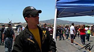 F18 Hornet - Abraham Lincoln Aircraft Carrier Navy Week