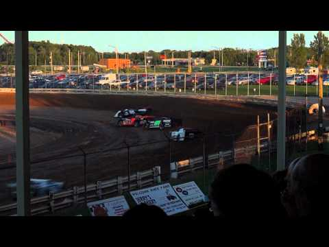 EWSC Racing Late Model Heat 4 8/17/2012