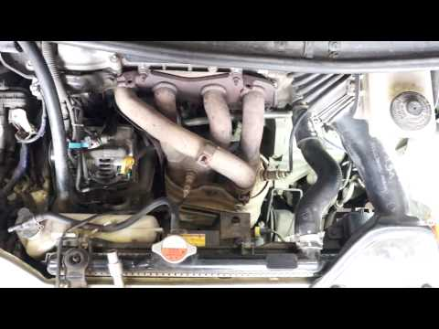 Удаление катализатора Toyota Previa Двигатель 2AZ FE