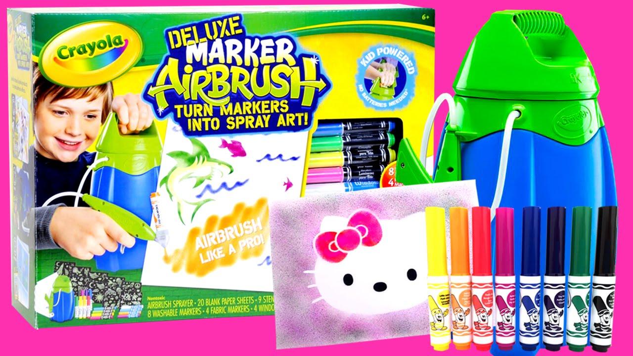 Aerografo crayola toys colori per dipingere sulla pelle for Aerografo crayola amazon