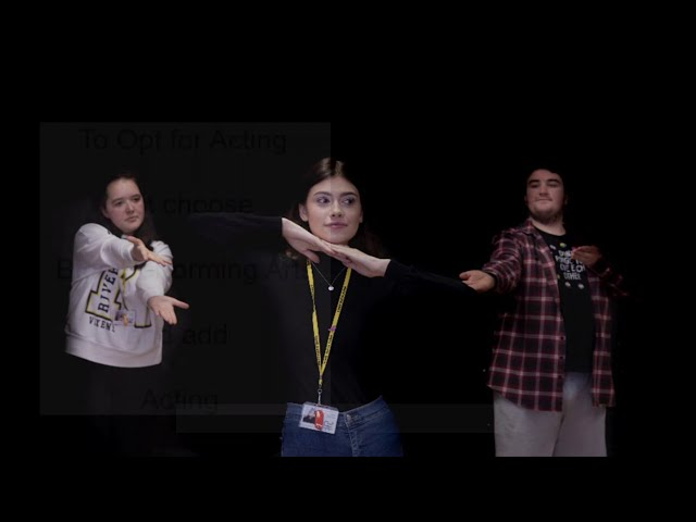 BTEC Acting - CAHS Year 9 Options 2021