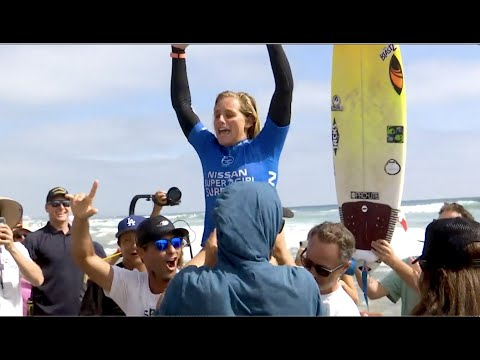 2019 Nissan Super Girl Surf Pro TV Show