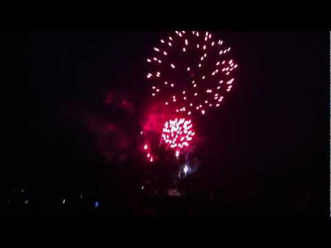 4th of July 2011 - Fort Collins, CO - City Park Fireworks Show