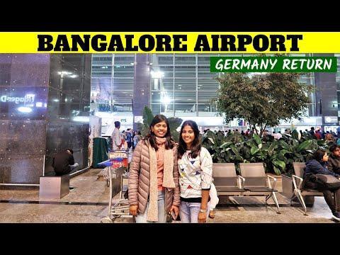 Bengaluru Kempegowda International Airport - Receiving My Sister | Bangalore Trip