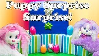 WORLDS BIGGEST Puppy Surprise Surprise Puppy in my Pockey Puppy Surprise Eggs Toys Video