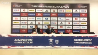 Anadolu Efes - Valencia Basket Basın Toplantısı