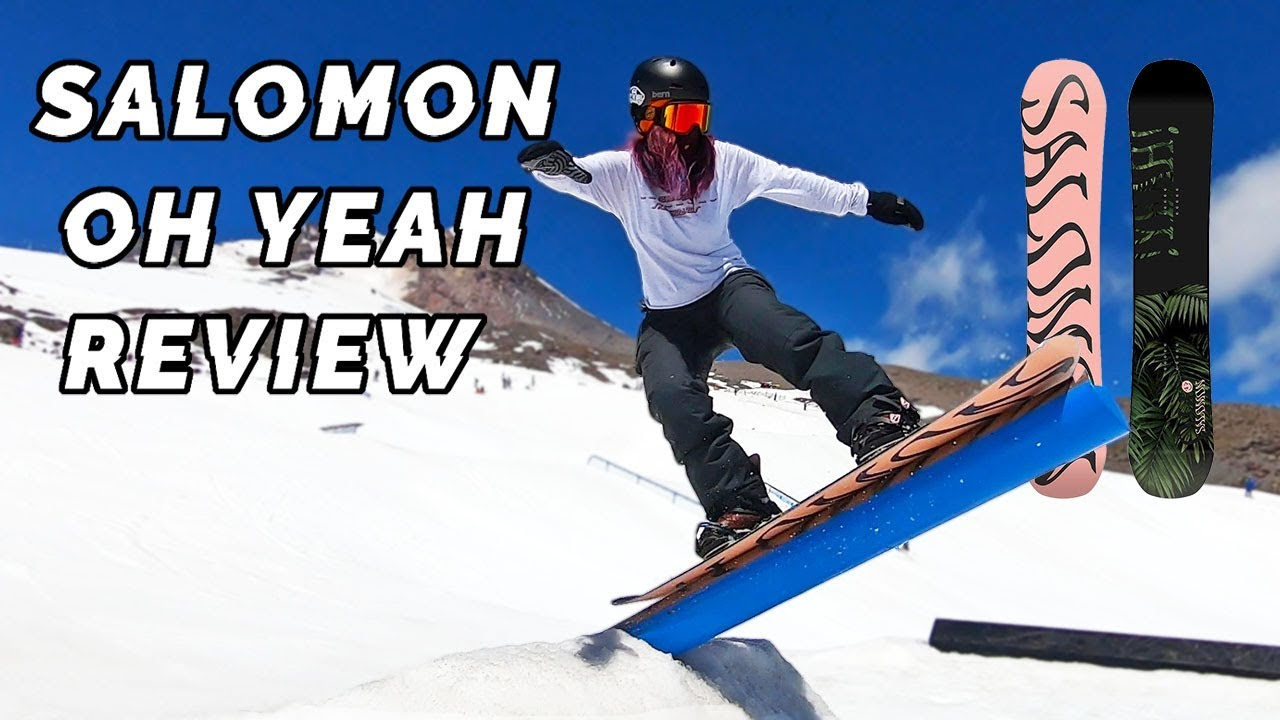 Salomon Oh Yeah Women's Snowboard Review