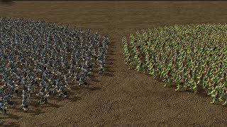 1500 Peasants Vs 1000 Peons Warcraft 3 Mod