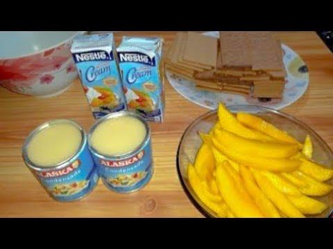 MANGO GRAHAM CAKE | PINOY TASTE