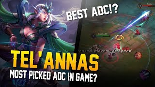Arena of Valor Gameplay - MOST PICKED ADC!? Tel'Annas Gameplay