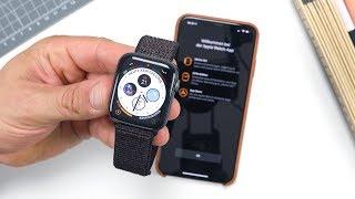 Apple Watch (Series) 4: Einrichtung & Setup   deutsch