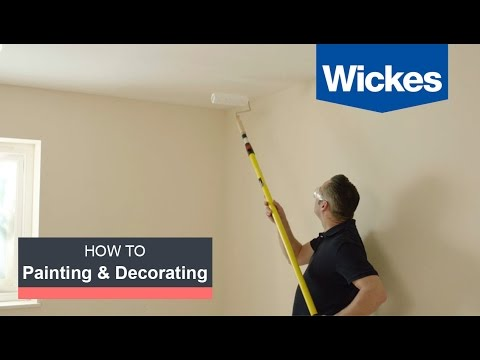 How to Paint a Room with Wickes