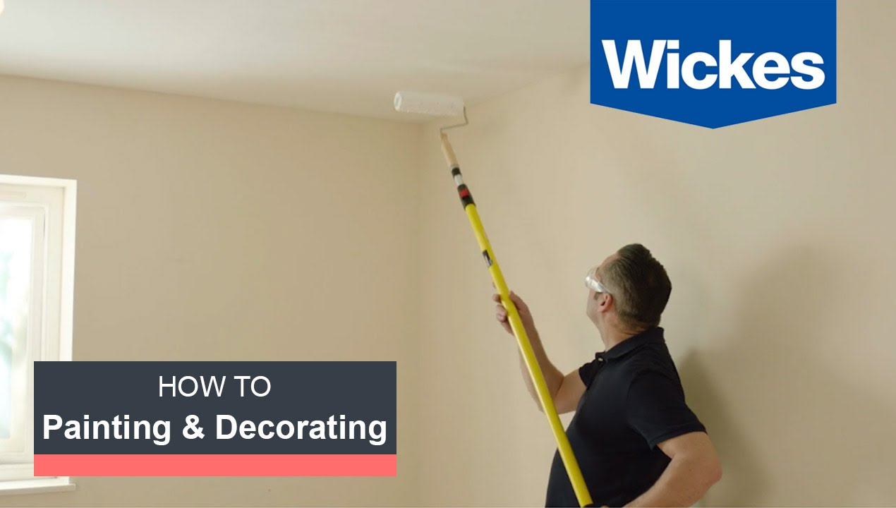 How To Paint A Room With Wickes Youtube