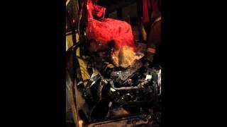 Аварія автобуса і вантажівки на горьківському шосе 17.01.