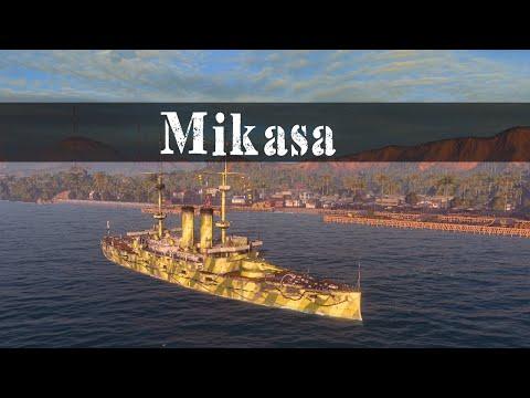 Mikasa - Tier 2 Premium Battleship - Ship Sunday | TechDragon.info