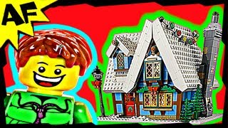 Lego City Winter Village Cottage 10229 Expert Creator Stop Motion Build Review