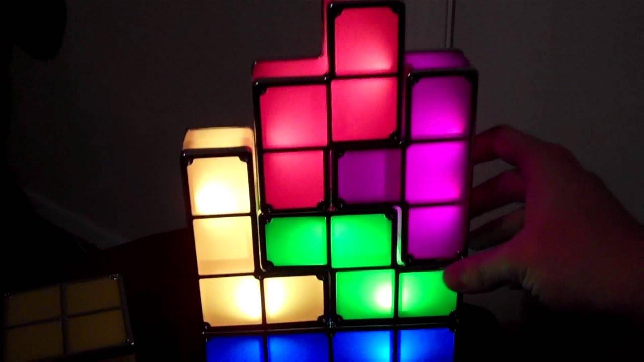 Tetris Light Stackable LED Desk Lamp YouTube