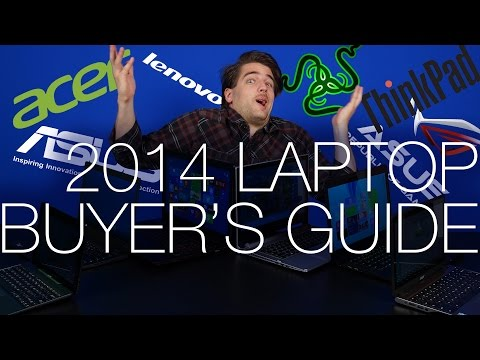 Back to School 2014 Laptop Buyer's Guide